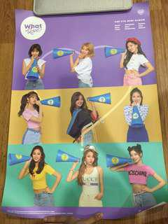 (Official) Twice What Is Love Poster ( B version only)