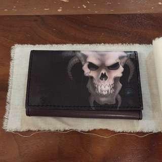 Margiela Skull Leather Key Pouch / Purse