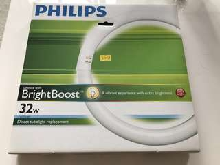 Philips ultra-bright 32W light for sale! (circular tube)