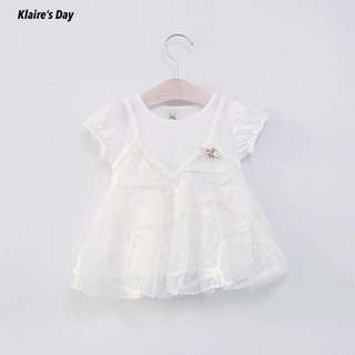 Cute White Princess Baby Girl Dress #babydivision