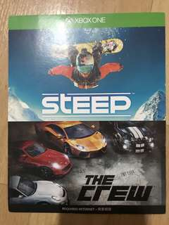 The Crew and Steep- digital codes for Xbox One