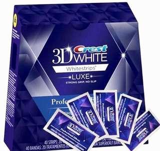 ✨原裝正貨✨Crest 3D Whitestrips Professional Effects 美白牙貼 (5包10片)