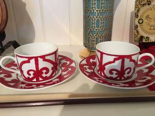Hermès Tea Cup Set (2x)