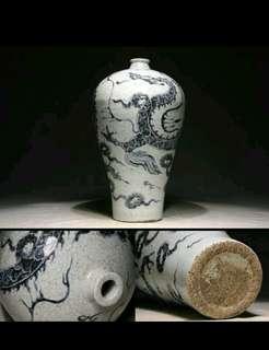 元青花瓷梅瓶价格