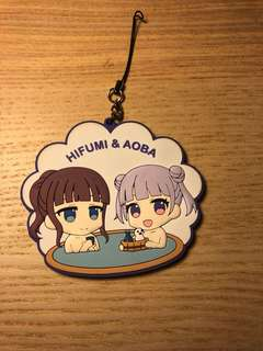 New Game Aoba and Hifumi Rubber Strap / Keychain