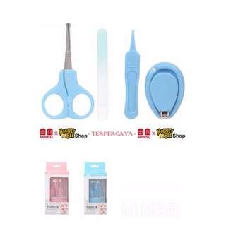 Japan Quality - Set pedikur medikur Miniso Import Toddler Nail kit