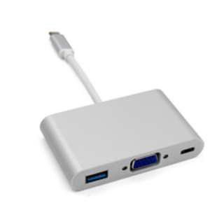 USB 3.1 Type-C USB-C to VGA Multi-Port Adapter