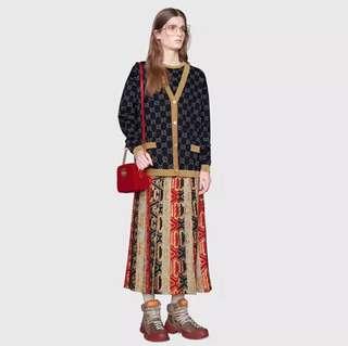 Gucci金絲線針織外套 兩色