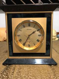 Seiko vintage clock