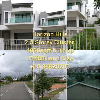 Freehold 2.5 Storey Cluster House 4000sgft