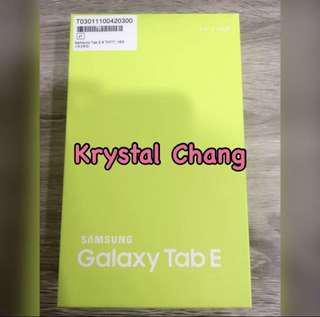 Galaxy Tab E 平版 白色 未拆封 可面交 全新品 公司貨 TabE平版 TabE 8.0 LTE(T3777)