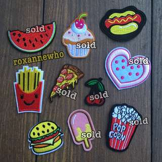 Iron On Embroidered Sew Patches