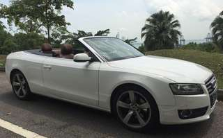 Audi A5 2.0T Cabriolet
