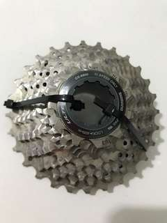 Shimano ultegra CS 6800 11 speed cassette