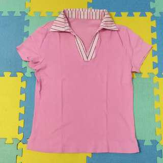 Pink Collared Shirt