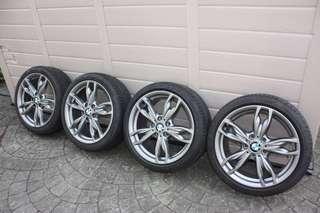 "ORIGINAL BMW 18"" 436m style rims"