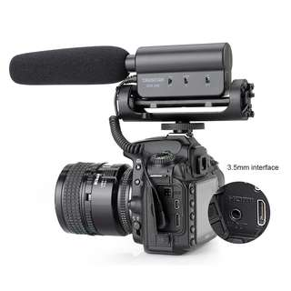 Professional Video Recording Microphone for DSLR Cameras