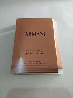 Vial Parfum Armani Eau Pour Homme Giorgio Armani For Men 1,5ml EDT