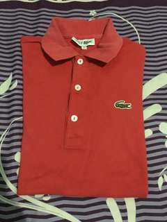 LACOSTE RED Size S