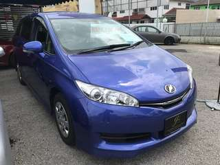 TOYOTA WISH 1.8 2015 UNREG