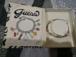 Authentic Guess Charm Bracelet