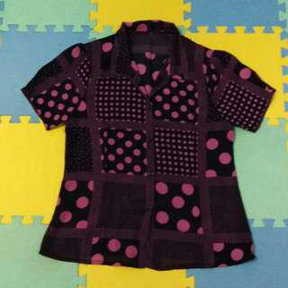 Collaredd Blouse E
