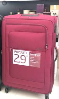 Samsonite Populite luggage 28""