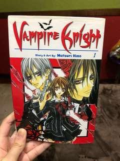 Vampire Knight Book 1