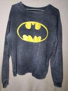 H&M DC Colab Batman Sweater
