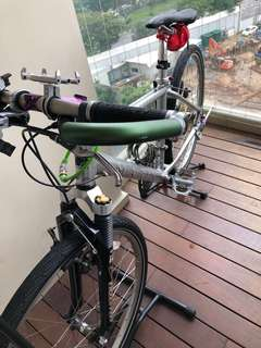 Marin Mountain Bike with Manitou front shocks for sale.