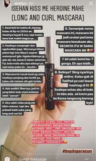 Maskara favorit Beauty Bloger