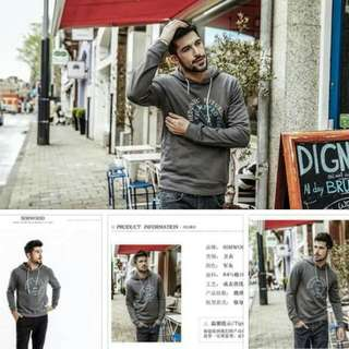 SALE!!! SD: Men Hoodie Sweatshirt (Free Size)