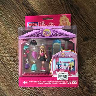 Mega bloks Barbie Walk-in closet