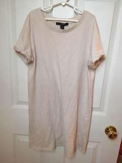 Nude Tshirt Dress