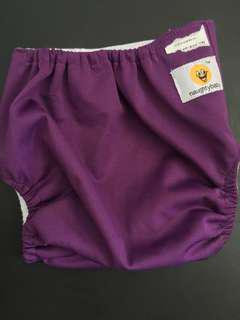 Naughty Baby Violet Cloth Diaper reusable w/o inserts
