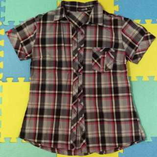 Dickies Checkered Blouse