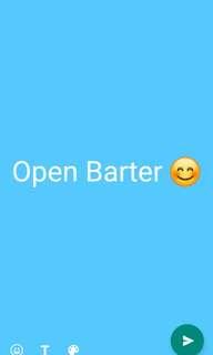 Open Barter Not NEW
