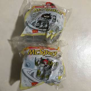 McDonald's Happy Meal Toys: McSpace