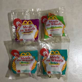 McDonald's Happy Meal Toy: Meals On Wheels