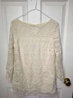 Boho Lace Shirt