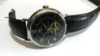 IWC Jam Dress Watch 44mm Automatic Mechanical Black