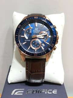 Casio edifice 男錶皮帶 men watch