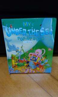 幼兒書 My under the sea pop-up book