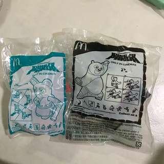 McDonald's Happy Meal Toys: Kung Fu Panda