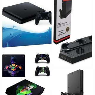 PS4 Jailbreak NEW 1TB with accessories