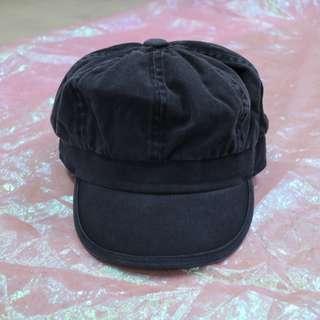牛仔素面中性報童帽