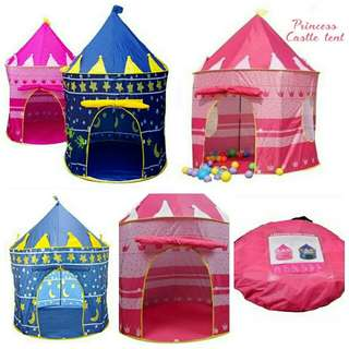 Kiddie castle tent