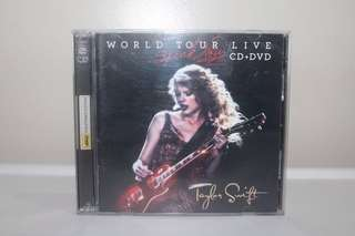 [CD+DVD] Taylor Swift Speak Now World Tour Live PH Edition