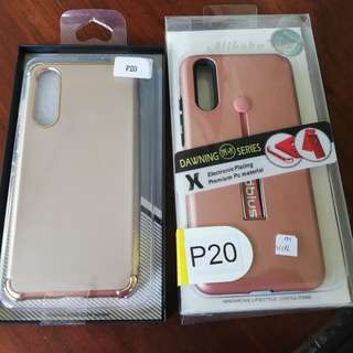 Huawei P20 Case (gold and rose gold)