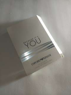 Vial Parfum Emporio Armani Because It's You Giorgio Armani For Women 1,2ml EDP